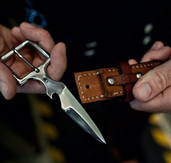 Leather-Belt-Knife-Buckle