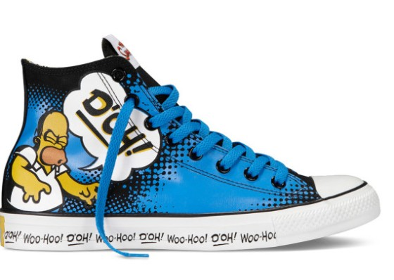 The Simpsons X Converse  (2)