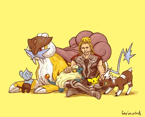 Et si les Avengers faisaient équipe avec les Pokémons (1)