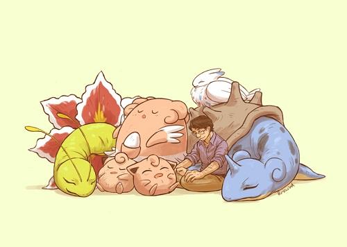 Et si les Avengers faisaient équipe avec les Pokémons (2)
