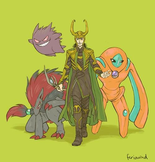 Et si les Avengers faisaient équipe avec les Pokémons (4)