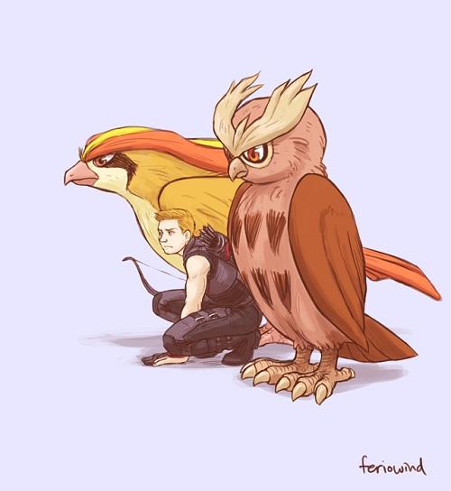 Et si les Avengers faisaient équipe avec les Pokémons (6)