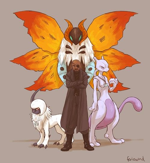 Et si les Avengers faisaient équipe avec les Pokémons (8)