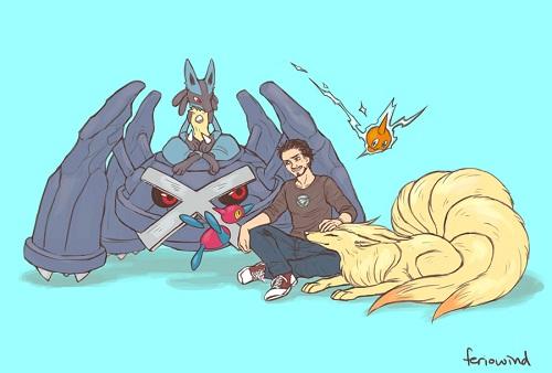 Et si les Avengers faisaient équipe avec les Pokémons (9)
